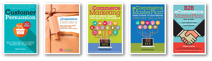Chloë Thomas's eCommerce Marketing Books