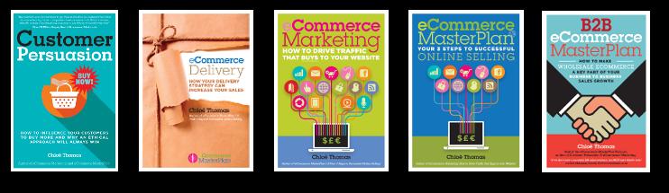 Chloë Thomas's eCommerce Marketing Books